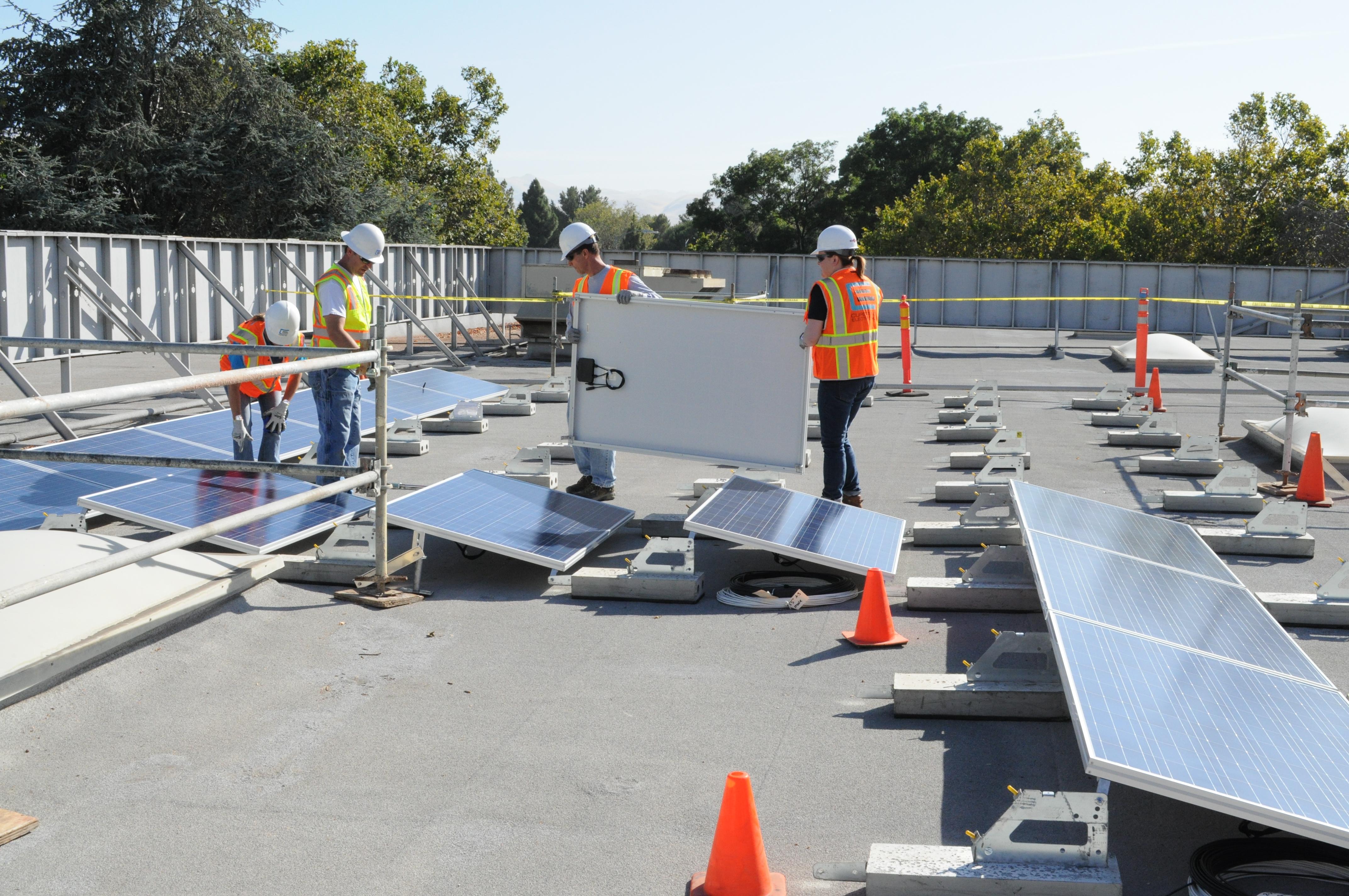RAFT solar installation
