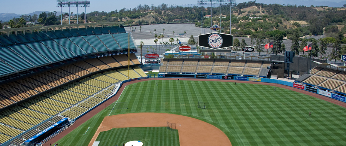 Dodger Stadium electrical improvements snapshot photo