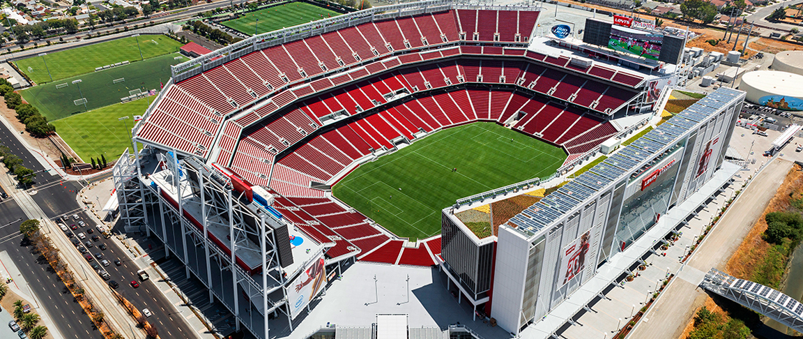 Image result for 49ers stadium