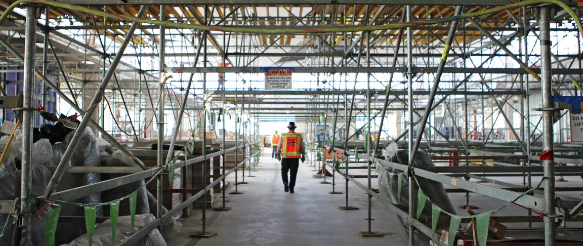 SFO in progress scaffolding