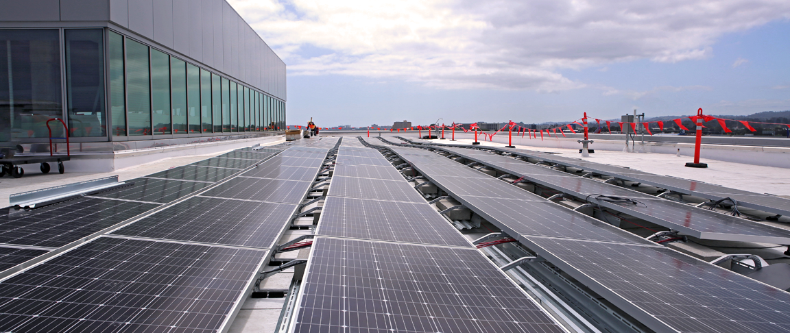 SFO rooftop solar PV