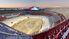 Levi's stadium in progress photo