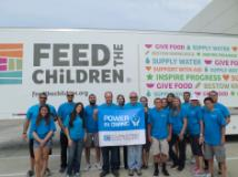 Cupertino Electric's philanthropy group helps Feed the Children